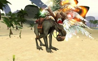 An Atysmas mount in front of an Atysmas tree.