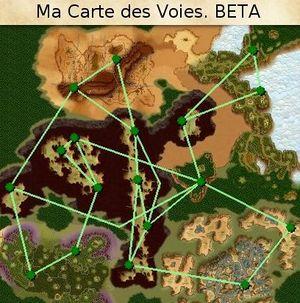 Carte des tunnels Ranger