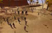 Prince Stevano arrives in Thesos with the Matis army.