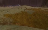 A regiment of Fyros troops at the border.
