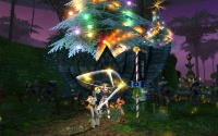 Starry Cane Dance at the Zora stables.