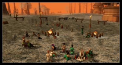 La dernière assemblée Ranger au Bois d'Almati avec Wuaoi et Apocamus Dradius.Nivia 28, 2nd AC, 2603.