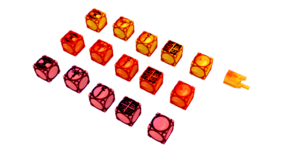 Amber Cubes