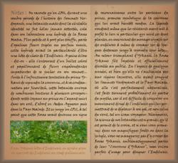 Herbier écrit en dialecte d'Avalae