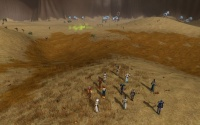 Players watch as the Fyros troops are gassed group by group.