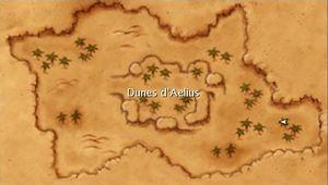 Carte des Dunes d'Aelius.