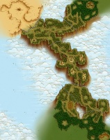Verdant Heights, the territory claimed by the Matis Kingdom.